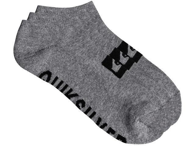 Quiksilver Ankle Chaussettes Pack de 3, light grey
